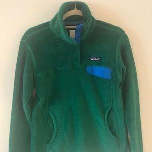 Green Patagonia Re-tool Fleece